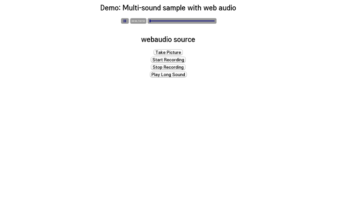 The result image of the sample app